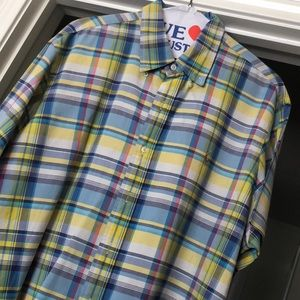 Men's Polo plaid shirt